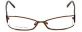 Moda Vision Designer Eyeglasses FG6501E-BRN in Brown 53mm :: Rx Bi-Focal