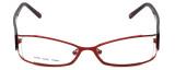 Moda Vision Designer Eyeglasses FG6501E-RED in Red 53mm :: Rx Bi-Focal