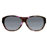 Jonathan Paul® Fitovers Eyewear Extra Large Allure in Grape Demi & Gray AU004