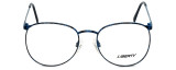 Liberty Optical Designer Eyeglasses LA-4C-4-55 in Blue Marble 55mm :: Rx Bi-Focal