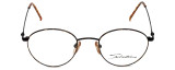 Calabria Designer Eyeglasses Seb-782 in Tortoise Black 48mm :: Rx Bi-Focal