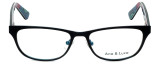 Ana & Luca Designer Eyeglasses Chiara in Black 51mm :: Rx Bi-Focal