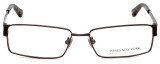 Jones New York Designer Eyeglasses J337 in Brown 57mm :: Rx Bi-Focal