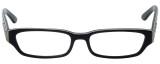 Calabria Designer Eyeglasses 820-BLK in Black 50mm :: Rx Bi-Focal