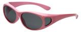 Calabria RS2866POL-A Polarized FitOver Sunglasses with Rhinestone Medium Size