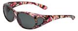 Calabria RS2866POL-JP2 Polarized FitOver Sunglasses with Rhinestone Medium Size