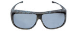 Jonathan Paul® Fitovers Eyewear X-Large Aviator Kryptek in Neptune & Grey