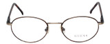 Guess Rx Progressive Eyeglasses GU372-B TO/AS 51mm in Havana Tortoise/Gunmetal