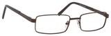 Dale Earnhardt, Jr Eyeglasses-Dale Jr 6802 in Matte Brown Frames 57mm Progressive