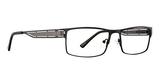 Dale Earnhardt, Jr Eyeglasses 6798 in Black Frames/Gunmetal 60mm Progressive