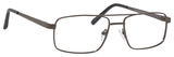 Dale Earnhardt, Jr Designer Eyeglasses 6805 in Satin Gunmetal 56mm Progressive