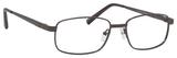 Dale Earnhardt, Jr Designer Eyeglasses 6814 in Satin Gunmetal 54mm Progressive