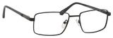 Dale Earnhardt, Jr Designer Eyeglasses 6817 in Satin Black 53mm Progressive