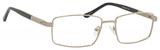 Dale Earnhardt, Jr Designer Eyeglasses-Dale Jr 6818 in Silver 57mm Progressive