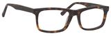 Esquire Designer Mens EQ1548 Reading Eyeglasses in Matte Tortoise 55 mm Progressive
