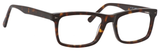 Esquire Designer Mens EQ1548 Reading Eyeglasses in Shiny Tortoise 55 mm Progressive