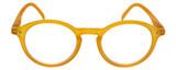 Calabria Elite Designer Unisex Round Reading Glasses ZT1662 42 mm