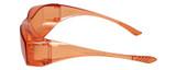6000 Over Glasses UV Protection in Orange