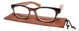 Calabria Drew Square Designer Reading Glasses 48mm