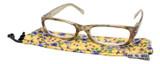 Calabria Dora Round/Oval Designer Reading Glasses 50mm