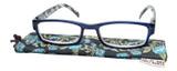 Calabria Kylie Rectangular Designer Reading Glasses 50mm