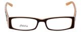Calabria Designer Eyeglasses 815 Brown :: Rx Single Vision