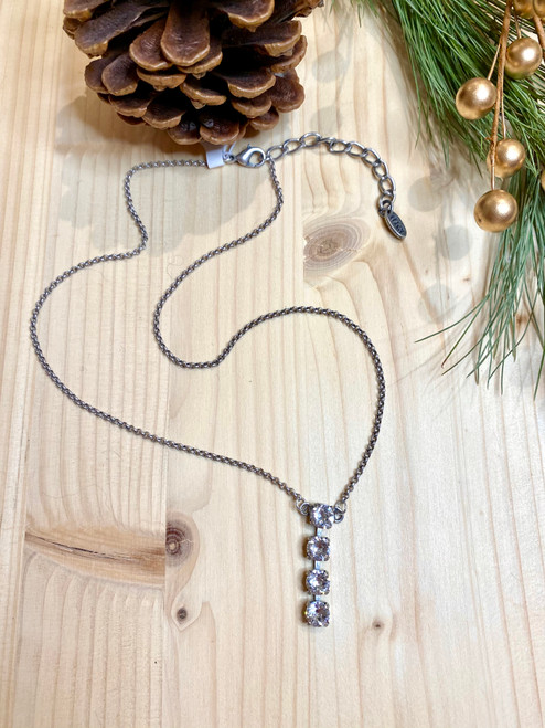 Clear Ruthie Necklace