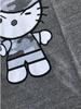 Camo Kitty Heather Grey Closeup