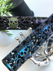 Skull design AR15 hand guards in GunCandy Cerakote Finish