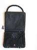 NORB messenger style bag in Kryptek black camo fabric Inside