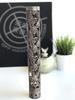 Floral Stag  pattern hand guard in Battleworn Rose Gold Cerakote