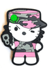 """Camo Kitty Pink 3"""" Patch"""