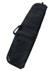 "Black 42"" Soft padded rifle bag front"