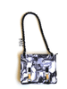 Titanium Flower fabric NORB (No Ordinary Range Bag) front