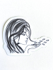 Blowing Bullets Sticker