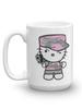 Camo Kitty Mug 15oz front