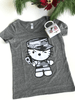 Camo Kitty Eco Heather Tee and Mug Gift Set