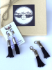 Range Angel zipper tassels with card and box