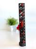 Slim Series Rose Vine Design Rail with Black and Red 2 Color Cerakote Finish Option side view