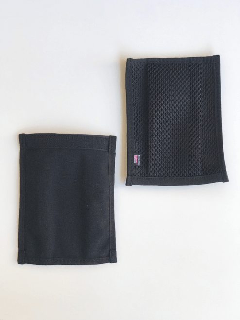 NORM Spent brass pouch in black mesh front and back