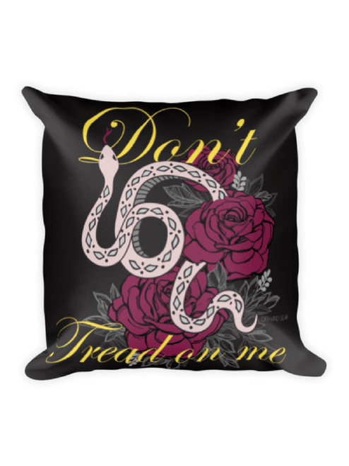 Lady Gadsden Pillow with text