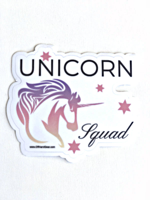 Unicorn Sticker White