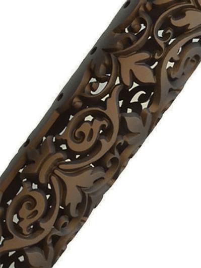 Fleur D' Lis, vine steampunk hand gaurd rail