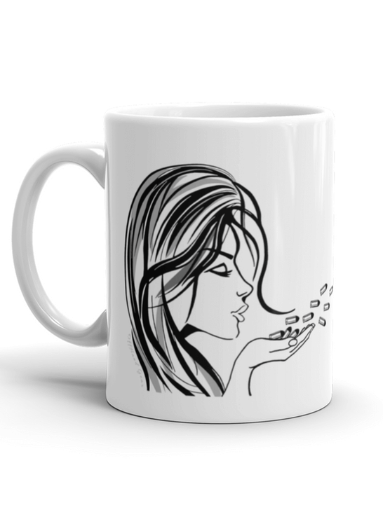 Blowing Bullets Mega Mug