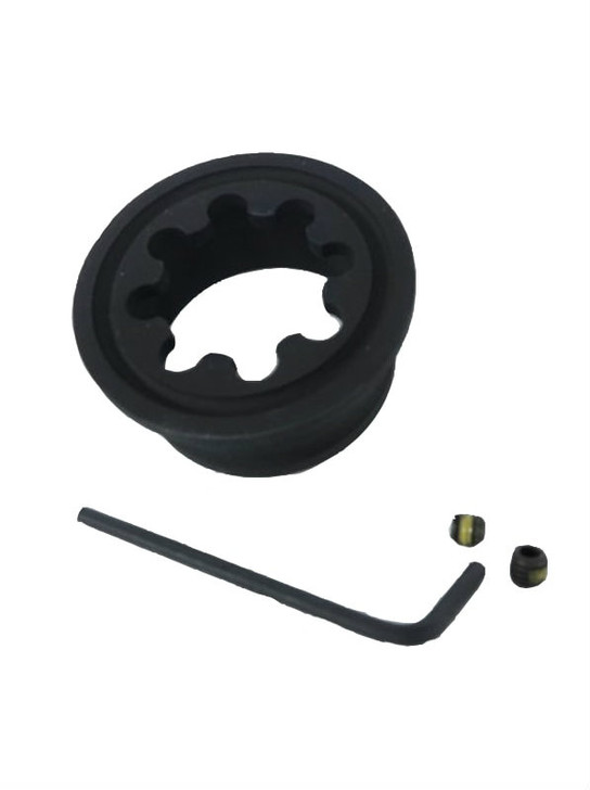 Flat End Cap accessory for AR15 hand guards