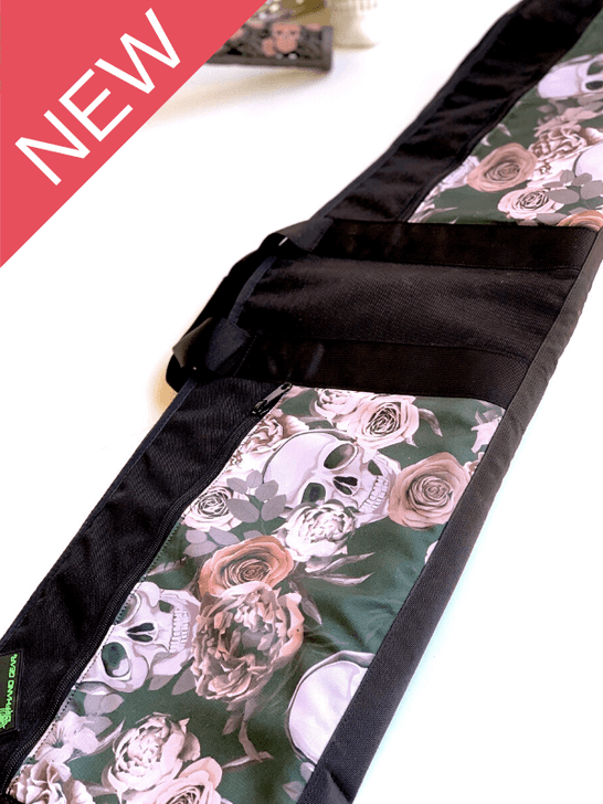 "Limited Edition Harmony (Skull & Rose) Soft Rifle Case 42"""