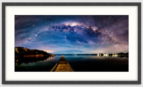 Milky Way sets over Freycinet Tasmania