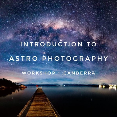Introduction to astrophotography workshop