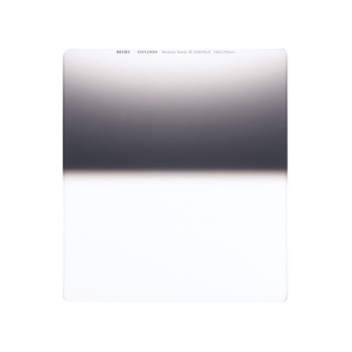 NiSi Explorer Collection 150x170mm Nano IR Reverse Graduated Neutral Density Filter - GND4 (0.6) - 2 Stop