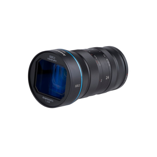 Sirui 24mm f/2.8 1.33x Anamorphic lens for Canon EF-M Mount